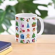 Cốc họa tiết Noel Giáng sinh cốc uống nước trà cafe thumbnail
