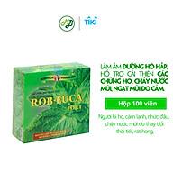 Viên uống TPCN hỗ trợ làm dịu cơn ho,đau họng,khàn tiếng - ROB EUCA FORT- Hộp 100 viên thumbnail