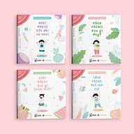 Combo Sách Ehon Nhật Bản Bé Thích Ăn Món Nào Nhỉ (Bộ 4 Cuốn Ehon Phát Triển Khả Năng Ngôn Ngữ Của Trẻ Trong Giai Đoạn Đầu Đời Ehon Rau Củ) thumbnail