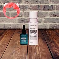 Combo Detox Blanc Thải độc Giảm mụn tận gốc Mặt Nạ Detox mask và Serum mụn Lộc Đề (mẫu mới) + Tặng kèm băng đô thời trang thumbnail