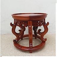 Đôn gỗ hương kê tượng - lục bình - đồ phong thủy AN1359 thumbnail