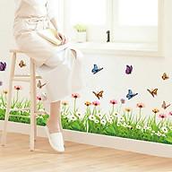 Decal dán tường trang trí phòng khách, quán cafe- Chân tường GS- GS8925 thumbnail