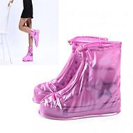 Bao Giày Đi Mưa - Áo Mưa Bọc Giày Dép Thời Trang Bằng Cao Su Khô Ráo Dù Mưa Bão thumbnail