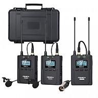 Micro không dây cho máy ảnh, máy quay Comica CVM-WM200 (A C) - Hàng chính hãng thumbnail
