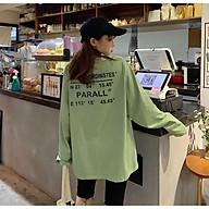 Áo thun nữ tay dài form rộng Unisex Space Coor Freesize mặc vừa từ 45-70kg Molly Urban thumbnail