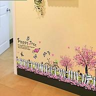 Decal dán tường trang trí chân tường- Chân rào tình yêu- XL7080 thumbnail