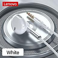 Tai nghe có dây 3.5mm Lenovo XF06 Tai nghe bán trong tai Giảm tiếng ồn với Điều khiển dây micrô HD bằng màng Graphene thumbnail