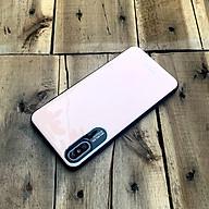 Ốp lưng bảo vệ camera hiệu Q.COO dành cho iPhone XS Max - Màu hồng phấn thumbnail