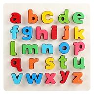 Đồ chơi giáo dục - Bộ bảng chữ số tiếng anh nổi thumbnail
