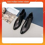 Giày CHELSEA BOOTS chính hãng HT.NEO Hàng cao cấp da bò thật 100% hot trend,da mềm lót êm đi cực thoải mái. DN25 thumbnail