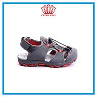 Sandals Bít Mũi Bảo Vệ Chân Nam Cao Cấp Kiểu Dáng Thể Thao Crown Space UK active CRUK804 Nhẹ Êm Thoáng Khí Dành cho Bé Trai Từ 4 đến 14 Tuổi Size 26-35 thumbnail