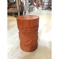 Hộp đựng chè mã đáo thành công gỗ hương cao cấp thumbnail