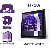 Vỏ Case Máy Tính NZXT H710i Màu Trắng Sần- Hàng Chính Hãng thumbnail