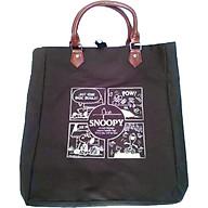 Túi vải Snoopy chính hãng - quai da thumbnail