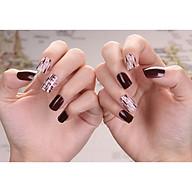 Bộ 24 móng tay giả nail thơi trang như hình (M96) thumbnail