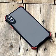 Ốp lưng chống sốc toàn phần dành cho iPhone X XS - Màu đen thumbnail