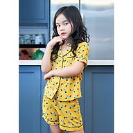 Bộ đồ Pijama màu vàng hình chú chó thumbnail