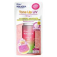 Sữa Chống Nắng Nâng Tông Dành Cho Da Dầu Hỗn Hợp Sunplay Skin Aqua Tone Up UV Essence Happiness Aura (Rose) (Cho Da Sáng Hồng, Khuyết Điểm Xanh) (50g) thumbnail