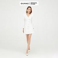 Đầm dáng ôm nữ thiết kế vest phối nút GUMAC DB511 thumbnail