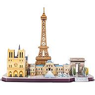 Bộ đồ chơi mô hình lắp ráp - Mẫu Thành Phố Paris, Pháp thumbnail
