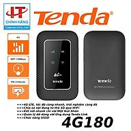 Bộ Phát Wifi Di Động 4G LTE 150Mbps Tenda 4G180 - Hàng Chính Hãng thumbnail