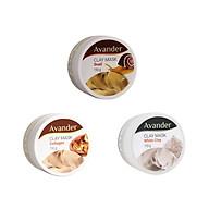 Combo 3 hũ mặt nạ đất sét Avander ( chiết xuất ốc sên, collagen, đất set trắng) thumbnail