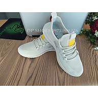 Xả giày thể thao nam màu sữa - giầy sneaker mẫu mới bền đẹp thumbnail