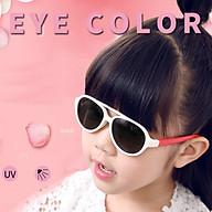[KÈM VIDEO] - Mắt kính trẻ em CAO CẤP chống gãy + chống tia UV MK03trangdo dành cho bé trai bé gái thumbnail