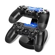 Dock sạc kiêm kệ đỡ cho tay cầm chơi game PS4 Slim và Pro - Hàng chính hãng thumbnail