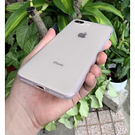 Ốp lưng viền dẻo trắng sần nhám cao cấp dành cho iPhone 7 Plus vs iPhone 8 Plus thumbnail