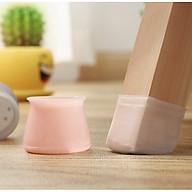 Bộ 20 miếng bọc chân bàn ghế silicon chống trượt, chống ồn xước sàn gỗ - màu ngẫu nhiên [Tặng móc dán tường treo đồ] thumbnail
