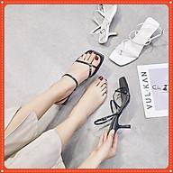 Giày Sandal Nữ Cao Gót nhọn 7p Quai mảnh Xỏ Ngón ( kèm ảnh thật) thumbnail