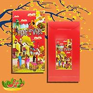 10 Bao Lì Xì Tết Việt - Giấy C150 bóng thumbnail
