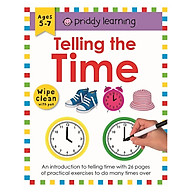 Wipe Clean Workbook Telling The Time thumbnail