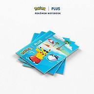 Tập Hoc Sinh Pokemon PLUS 5 Ô Ly 96 Trang Màu Xanh Lá Lốc 10 Cuốn thumbnail