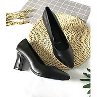 Giày cao gót nữ LUCACY đế cao 7cm da bò cao cấp 7PTGK thumbnail