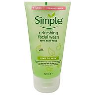 Sữa Rữa Mặt SIMPLE Kind To Skin Dạng Gel Cho Da Nhạy Cảm UK thumbnail