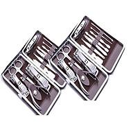 2 Hộp 12 dụng cụ làm móng cao cấp - kiềm móng 12 món đa năng thumbnail
