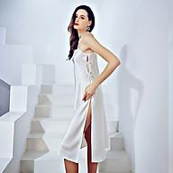 Đầm ngủ phi lụa wannabe dns13 đầm dài xẻ tà quý phái sang trọng thumbnail