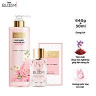 Combo Sữa Tắm Nước Hoa 640g & Nước Hoa 30ml Cindy Bloom Aroma Flower thumbnail