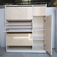 Tủ Giầy Nhựa Đài Loan 3 tầng nhiều ngăn - đủ màu thumbnail