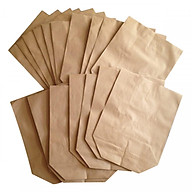 100 túi giấy xi măng gói đựng hàng loại 1.5kg giấy tốt (KT 21x26cm) thumbnail