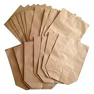 50 túi giấy xi măng gói đựng hàng loại 1.5kg giấy tốt (KT 21x16cm) thumbnail