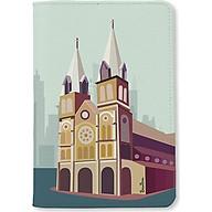 Bao da hộ chiếu - Nhà Thờ Đức Bà Sài Gòn - INK-670-002-PH thumbnail