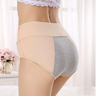 Combo 5 quần lót nữ cao cấp chống tràn ngày đèn đỏ, cạp cao nâng mông nhẹ, cotton ren hoa cực thoáng mát, quần nguyệt san thumbnail