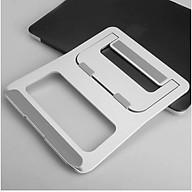 Giá đỡ, kệ đỡ tản nhiệt cho máy tính, laptop, surface, ipad siêu mỏng dạng Folding Stand thumbnail