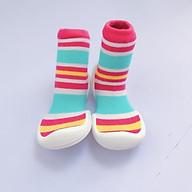 Giày tập đi cho bé cưng Color Ring White thumbnail