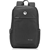 Balo laptop cao cấp 15.6 inch (Macbook 17inch) Mikkor The Edwin Premier chống thấm nước, ngăn laptop chống sốc riêng biệt có đai cài an toàn, thân sau đệm foam PE trên nền lưới Airmesh thoáng nhiệt, êm ái, thoải mái thumbnail