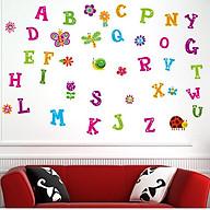 Decal dán tường Chữ cái 4 - HP178 thumbnail