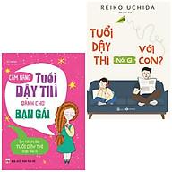 Combo Sách Thấu Hiểu Về Tuổi Dậy Thì Cẩm Nang Tuổi Dậy Thì Dành Cho Bạn Gái + Tuổi Dậy Thì Nói Gì Với Con - ( Top Sách Bán Chạy Nhất Tặng Kèm Bookmark Greenlife) thumbnail